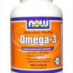 NOW FOODS OMEGA 3 1000 MG 100КАПС.