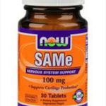 NOW FOODS SAM-E 100 MG 30ТАБЛ.