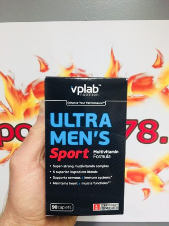 Ultra Men Sport Multivitamin 90 caps