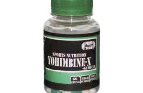 Действие YOHIMBINE-X (WITH GUARANA)