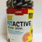 VPLab Fit Active Isotonic Drink 500гр.