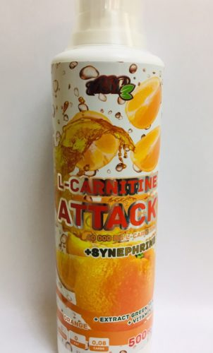 "ASP L-carnitine ATTACK 500мл. ""апельсин"""