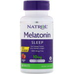 Melatonin, Fast Dissolve, Maximum Strength, 10 mg, 60 Tablets