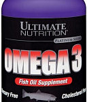 ULTIMATE NUTRITION OMEGA 3 – 180 кап.